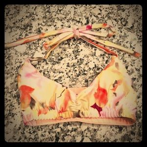 Custom girls dance bra top